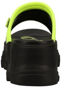 Buffalo - PANTOLETTEN - Pantofle - neon green - 5