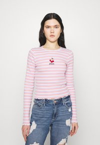 Hollister Co. - TREND TEE - Long sleeved top - multicolor - 0