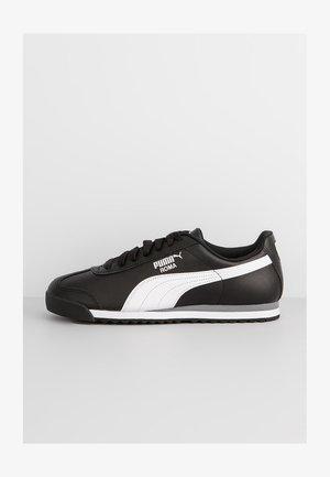 ROMA BASIC - Sneakers - black-white-puma silver