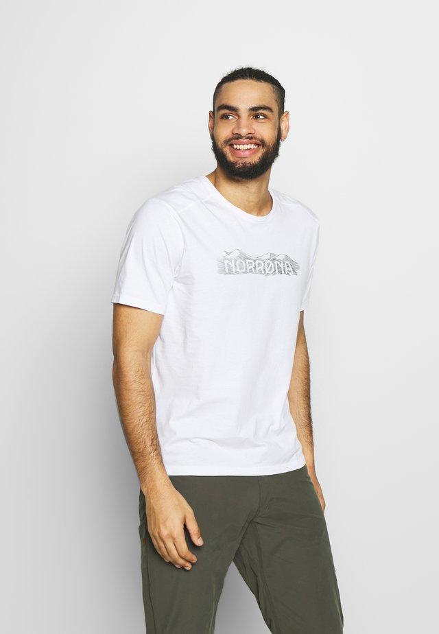 RANGE  - T-shirts med print - white