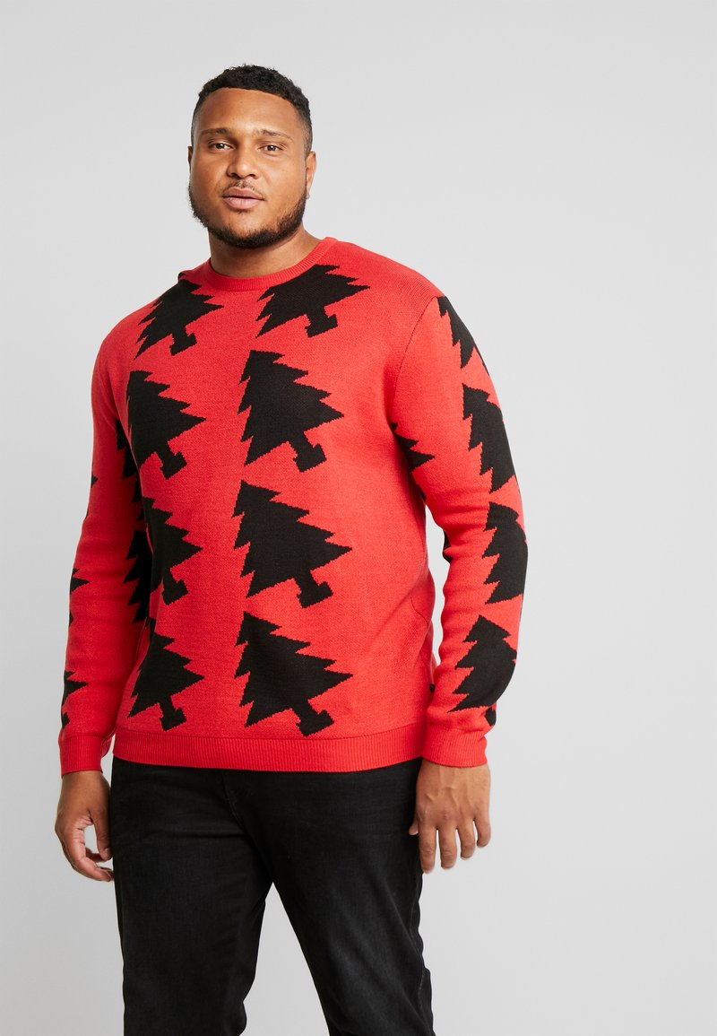 Jack´s Sportswear - XMAX TREES - Jumper - red