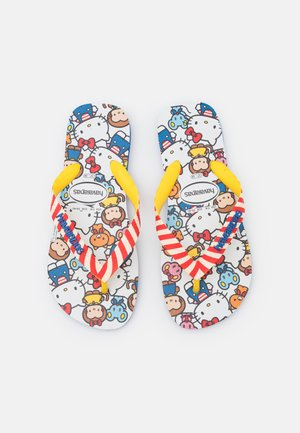 HAV. TOP HELLO KITTY - Pool shoes - blue star