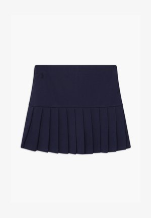 PLEATED BOTTOMS - Pleated skirt - french navy