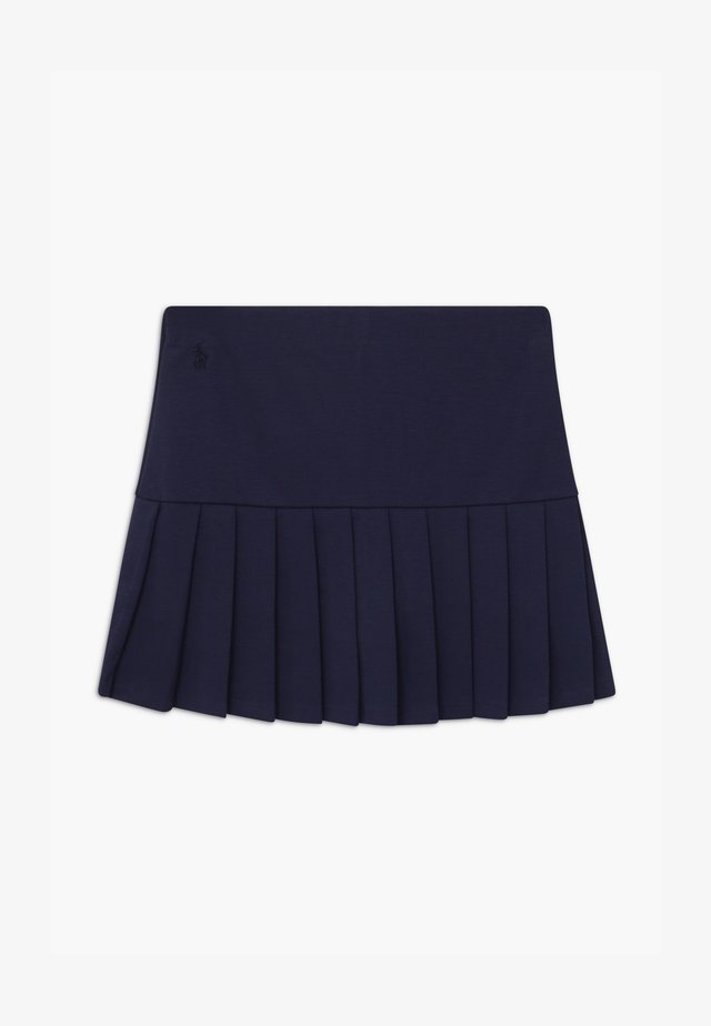 PLEATED BOTTOMS - Jupe plissée - french navy