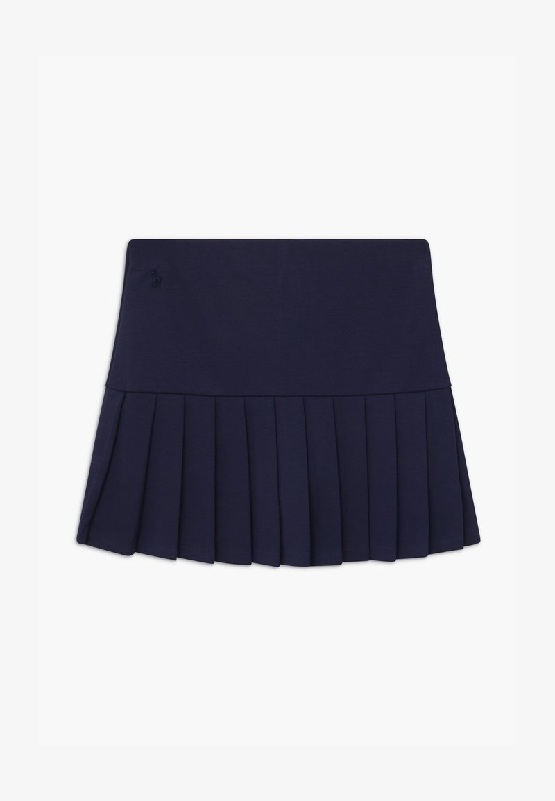 Polo Ralph Lauren - PLEATED BOTTOMS - Plisovaná sukně - french navy
