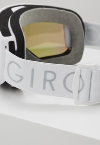 Giro - MOXIE - Skidglasögon - white core light/amber pink - 3