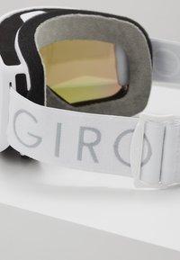Giro - MOXIE - Occhiali da sci - white core light/amber pink - 3