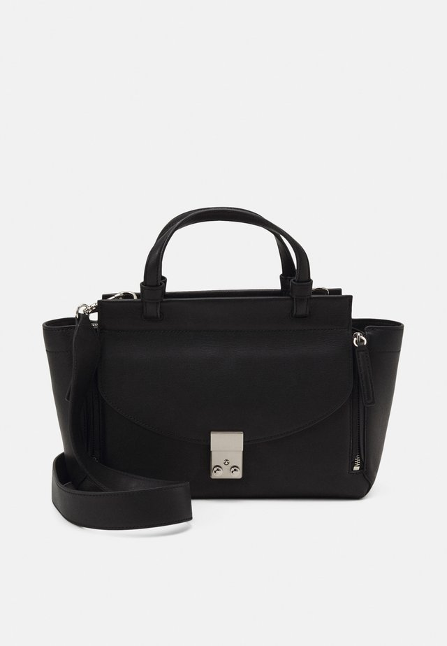 PASHLI SMALL SOFT MINI SATCHEL - Käsilaukku - black