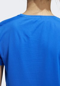adidas Performance - RUN IT 3-STRIPES FAST T-SHIRT - Print T-shirt - blue - 6