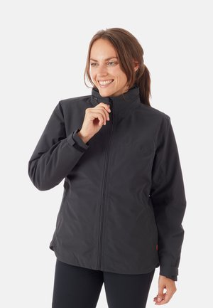 2 IN 1 - Hardshell jacket - black