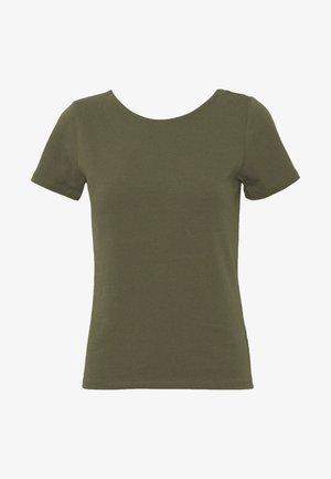 ONLMATHILDE ORGANIC - T-shirts med print - kalamata