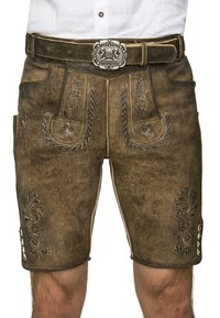 Stockerpoint - THOMAS - Kožené kalhoty - stein - 1