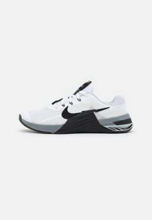 METCON 7 UNISEX - Scarpe da fitness - white/black/particle grey/pure platinum