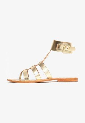 NOBLESSA  - Sandals - gold