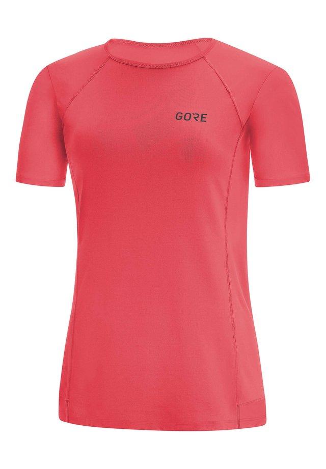 "GORE WEAR DAMEN LAUFSHIRT ""R5"" KURZARM - Print T-shirt - koralle (511)"