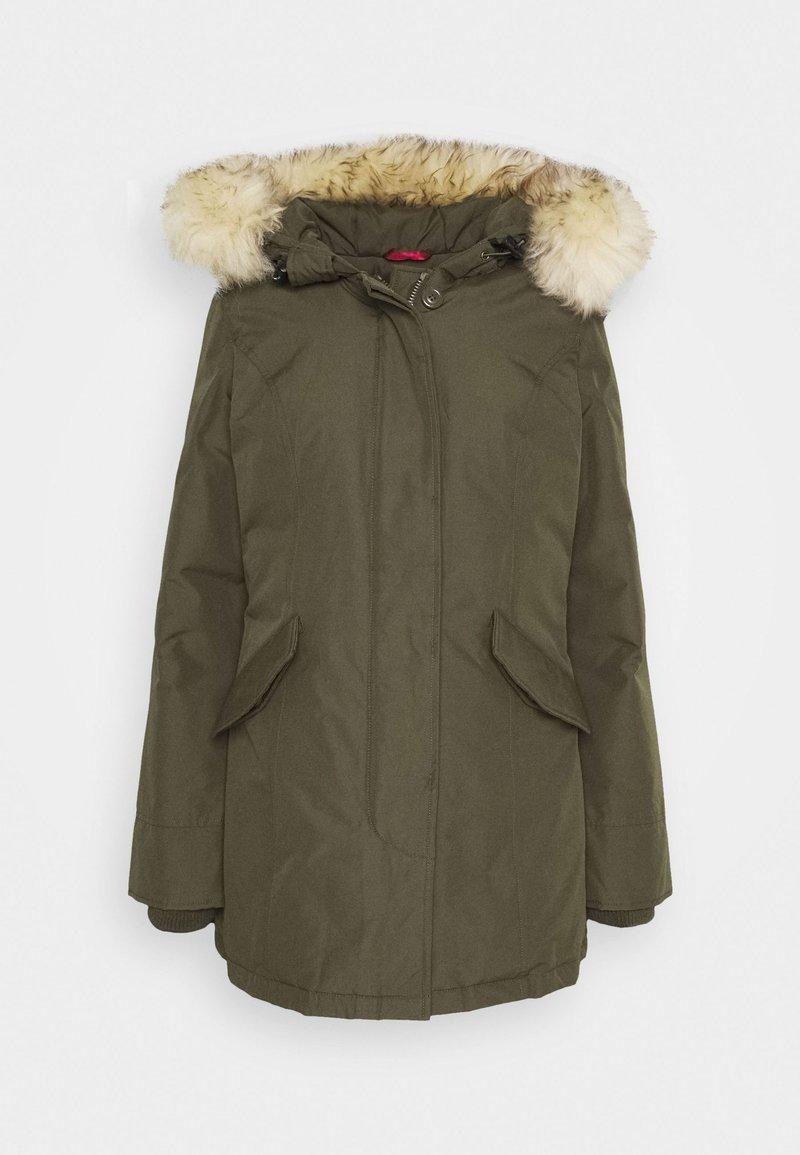 Canadian Classics Fundy Bay Down Coat Army Khaki Zalando Co Uk
