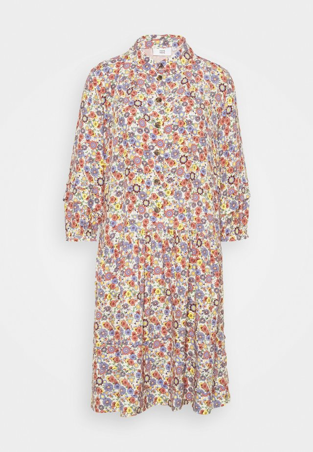 Shirt dress - multicolour