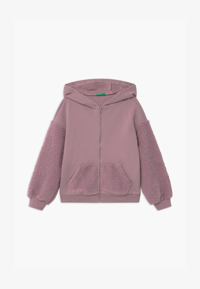 Benetton - FOREST FRIENDS - Hoodie met rits - lilac