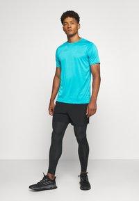 Craft - CORE ESSENCE TEE  - Print T-shirt - blue - 1