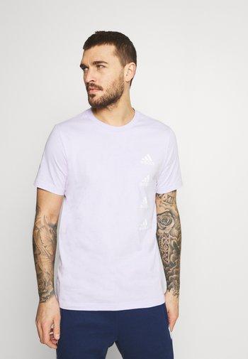 T-shirt med print - purple tint