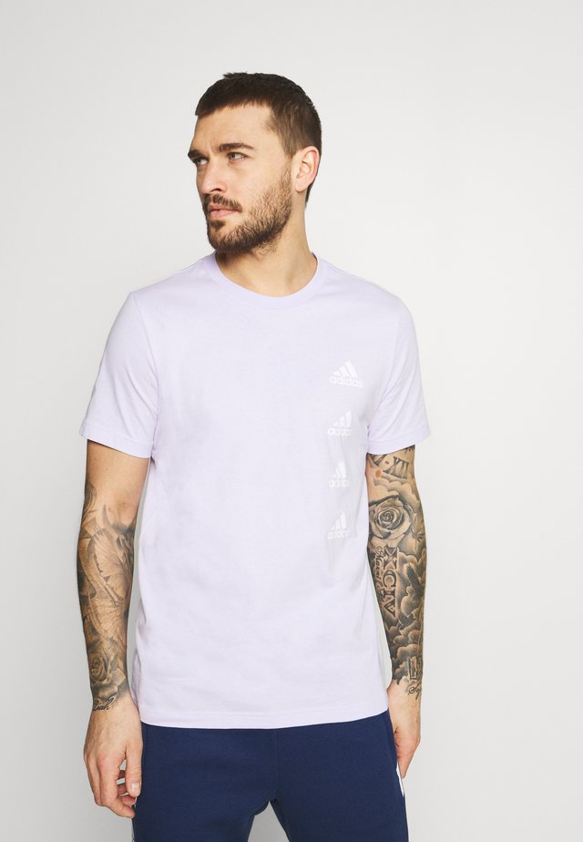 Print T-shirt - purple tint