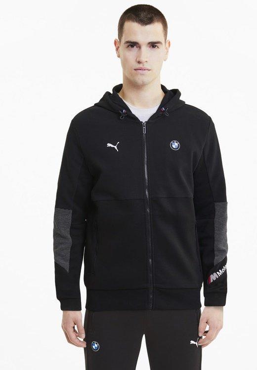 Puma - BMW MOTORSPORT  - Zip-up hoodie -  black