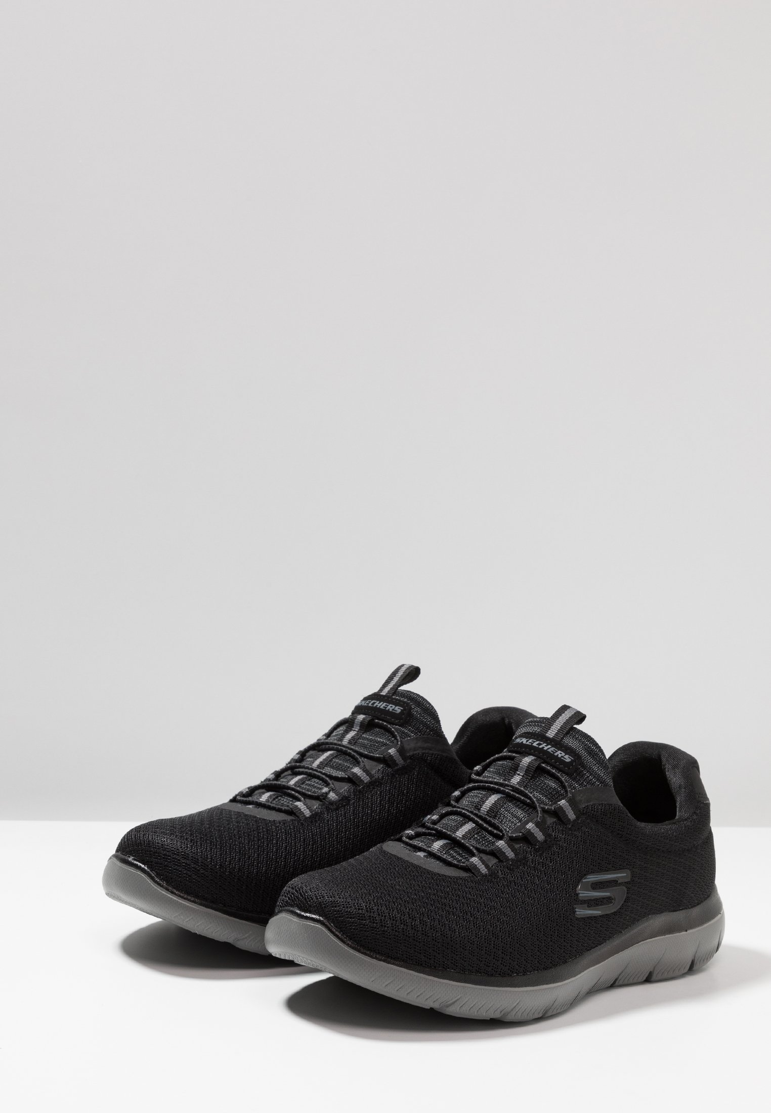 Skechers Sport SUMMITS Joggesko blackcharcoal Zalando.no