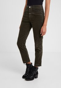 CLOSED - PEDAL PUSHER - Jeans Relaxed Fit - sea tangle - 0