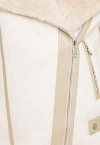 Fashion Union Tall - FAUX FUR TRIM AVIATOR - Vinterjakke - cream - 2