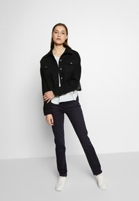 J Brand - HIGH RISE CROP CIGARETTE - Jeansy Straight Leg - blue denim - 1