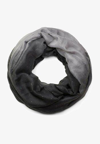 LOOP MIT - Snood - hellgrau-grau-schwarz