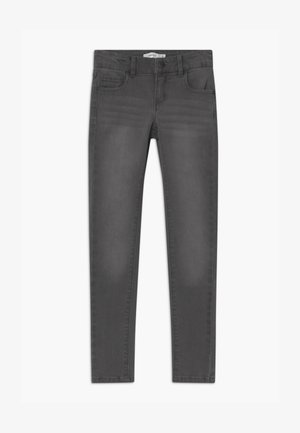 NKFPOLLY - Skinny džíny - dark grey denim