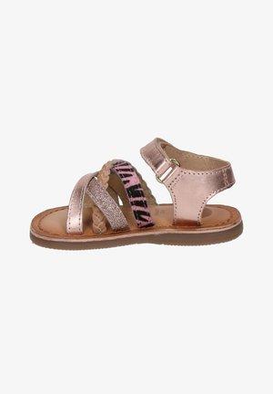 Sandalen - rose goud
