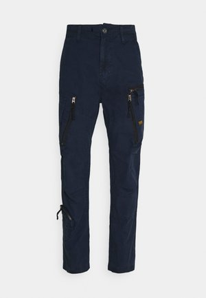 ARRIS STRAIGHT TAPERED - Pantalon cargo - dark blue