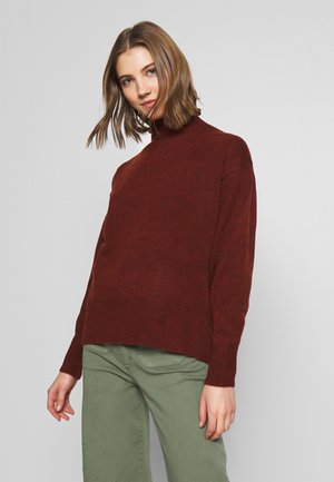 OVERSIZED - Pullover - rust