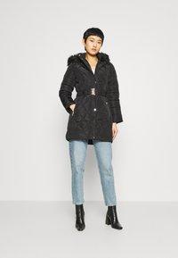 Dorothy Perkins - LONG PUFFER COAT - Winter coat - black - 1