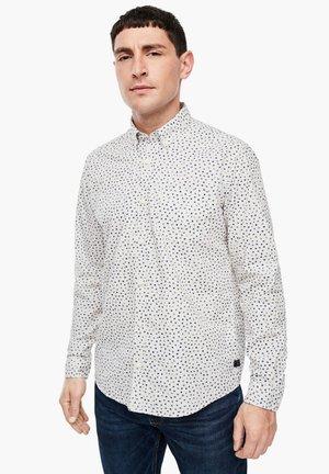 REGULAR FIT - Shirt - cream aop