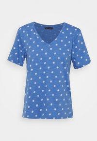 Marks & Spencer London - SLUB V TEE - T-shirts print - blue - 0