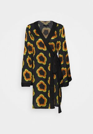 CHIMIN KIMONO - Lehká bunda - black