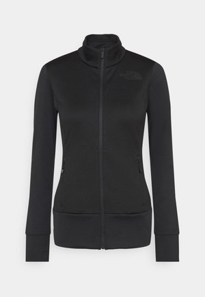 CRODA ROSSA TIN - veste en sweat zippée - black