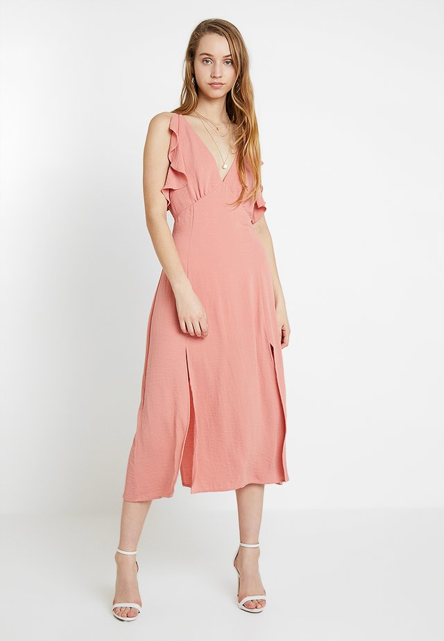 VERA DRESS - Maxi šaty - blush