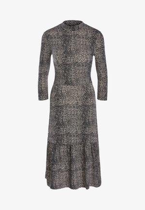 Day dress - light stone grey