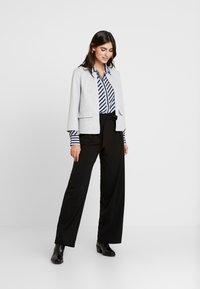 Opus - FASTINE DIAGONAL  - Button-down blouse - just blue - 1