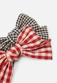 Pieces - PCJACKA HAIRCLIP BOW 2 PACK - Hair styling accessory - black/red - 3