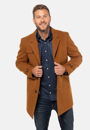 Classic coat - saffraan