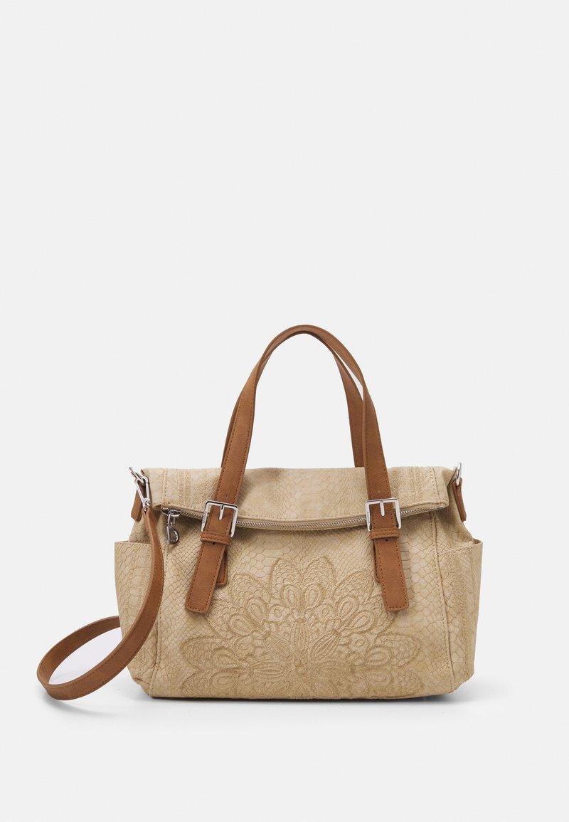 Desigual - BOLS SUMMER AQUILES LOVERTY - Handbag - beige