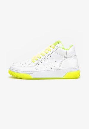 Sneakers hoog - pistachio-neon yellow pny