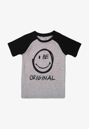 BE ORIGINAL - Print T-shirt - grey