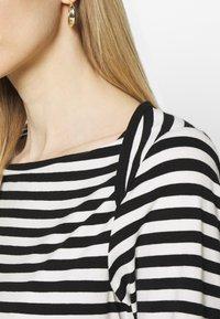 Anna Field - Långärmad tröja - black/white - 4