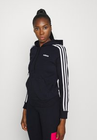 adidas Performance - Zip-up hoodie - legend ink/white - 2